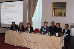 Members of the CAPA team at the 2014 Outlook release in Sofia